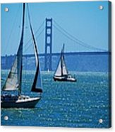 Nice Day On The Bay Acrylic Print