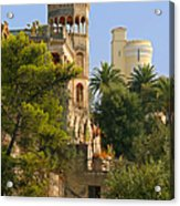 Nice - France - A Multiple Of Facets Acrylic Print by Christine Till