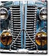 Nice Headlights Acrylic Print by Merrick Imagery