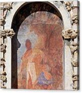 Niche Fresco In Real Alcazar Of Seville Acrylic Print