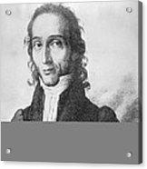 Nicholo Paganini, Italian Violinist Acrylic Print