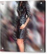 Nicole Scherzinger 24 Acrylic Print by Jez C Self