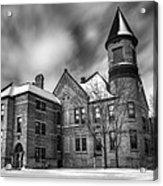 Nicolet School In Black And White Acrylic Print