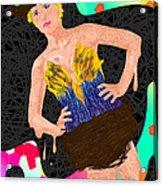 Nid D'oiseau De Angela Balderston Acrylic Print by Kenal Louis