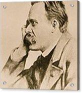 Nietzsche Acrylic Print