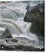 Nigel Creek Cascades Acrylic Print