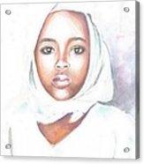Nigerian Girl Acrylic Print