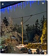 Night After The Ice Storm Acrylic Print