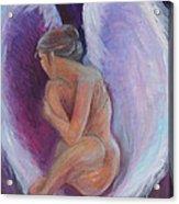 Night Angel Acrylic Print by Gwen Carroll