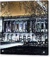 Night At The Library IIi Acrylic Print