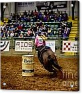 Night At The Rodeo V23 Acrylic Print