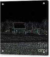 Night Barns Acrylic Print