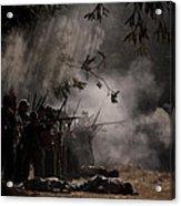 Night Battle Acrylic Print