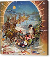 Night Before Christmas Acrylic Print