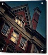 Night Building Acrylic Print