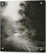 Night Driving On The Bells Line Of Road Acrylic Print