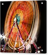 Night Ferris Wheel 3 Acrylic Print