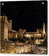 Night In The Old City Acrylic Print