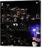 Night In Vegas 2008 Acrylic Print