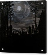 Night Acrylic Print