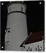 Night Life At Heceta Acrylic Print