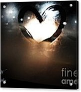 Night Life Love Acrylic Print