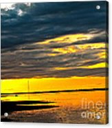 Night Meets Day Acrylic Print by Q's House of Art ArtandFinePhotography