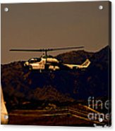 Night Mission Acrylic Print