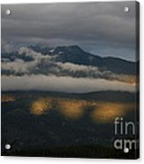 Night On Cougar Mountain Series Vii Acrylic Print
