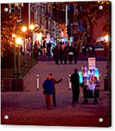 Night On The Town Acrylic Print
