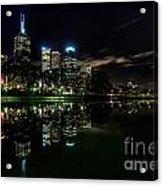 Night Reflections I Acrylic Print