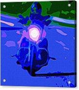 Night Rider Acrylic Print