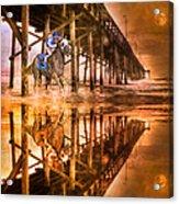 Night Run IIi Patriotic  Acrylic Print