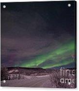 Night Skies Acrylic Print by Priska Wettstein