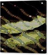 Night Streamers Acrylic Print