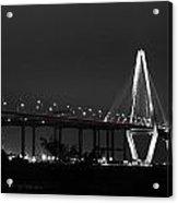 Night Time On The Bridge Acrylic Print