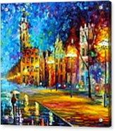 Night Vitebsk Acrylic Print