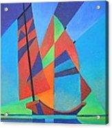 Nightboat Acrylic Print