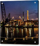 Nightlife In The Flats Acrylic Print