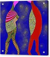 Nightly Kiss Acrylic Print