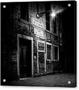 Nightroom Acrylic Print