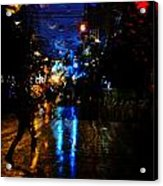 Nights Reflect  Acrylic Print