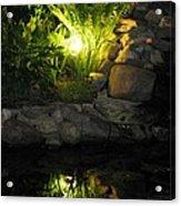 Nighttime Reflection Acrylic Print