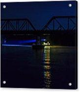 Nighttime Tug Acrylic Print
