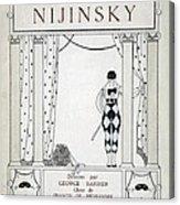 Nijinsky Title Page Acrylic Print