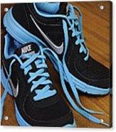 Nike Shoes Acrylic Print by Nicole Berna