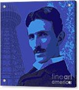 Nikola Tesla #2 Acrylic Print