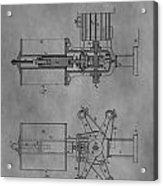 Nikola Tesla's Patent Acrylic Print