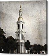 Nikolsky Cathedral Acrylic Print by Elena Nosyreva