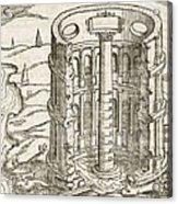 Nilometer In Egypt, 17th-century Artwork Acrylic Print